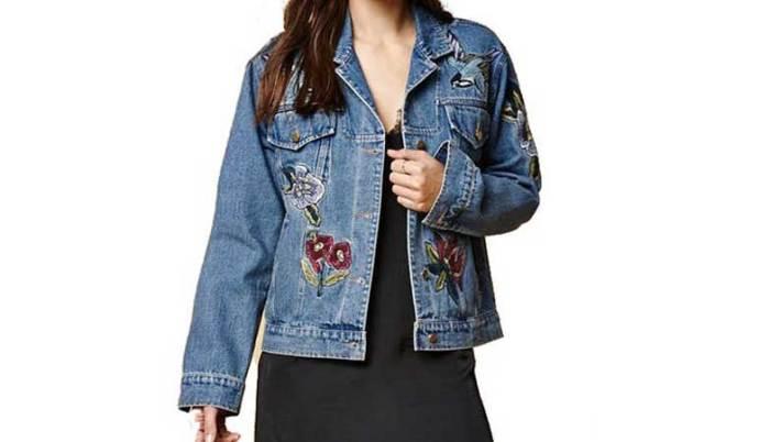 teksas jakna sa aplikacijama