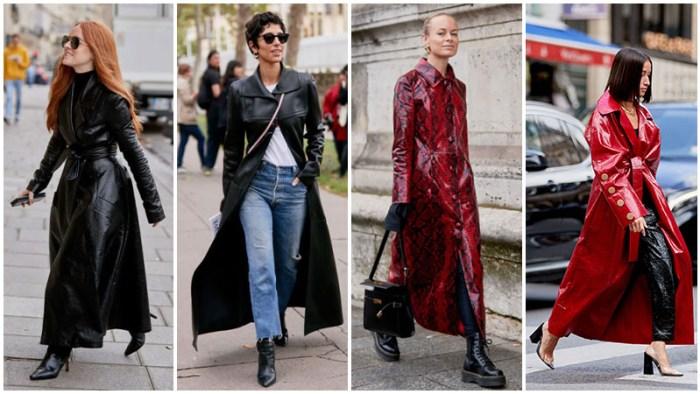 Najnoviji modni trendovi - maksi kozni mantili
