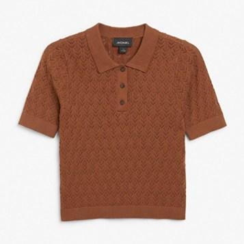 braon polo bluza