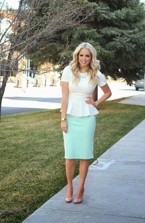 suknja poslovni stil