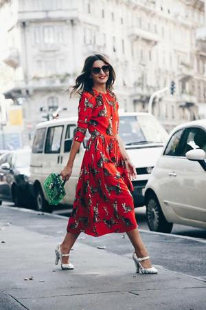 Mary Jane cipela sa dugom haljinom