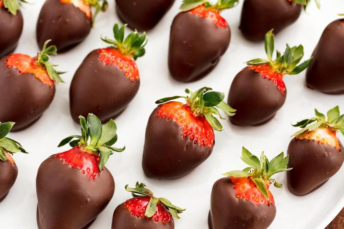 recepti za brze poslastice- cokoladne jagode