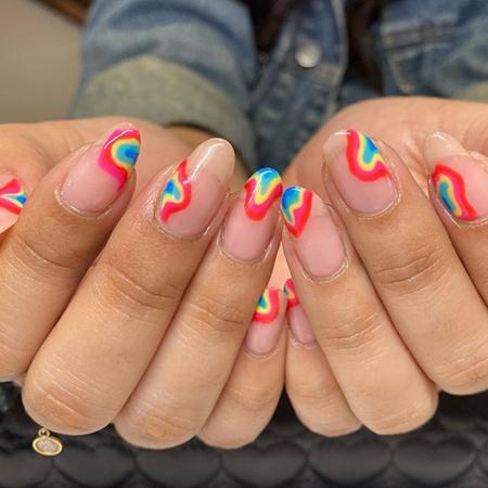 kreativni dizajn noktiju