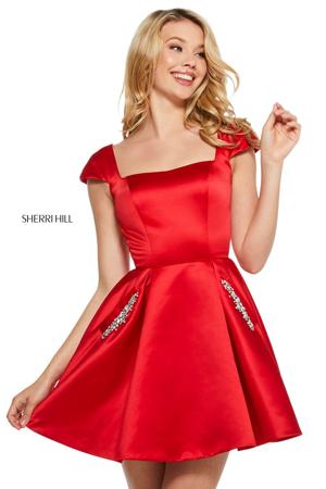 a-line kratke haljine za maturu