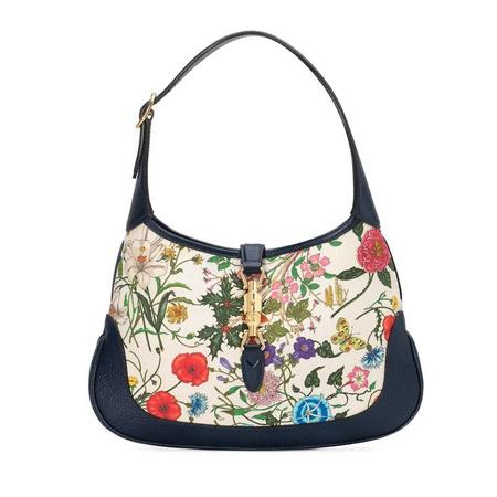 zenske torbe za leto- cvetni retro print
