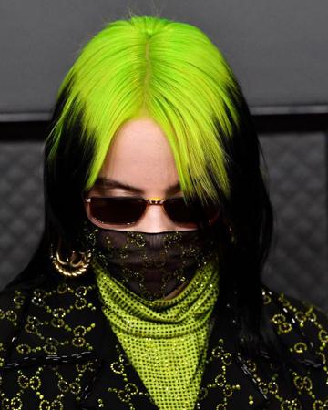 neon zelena i crna