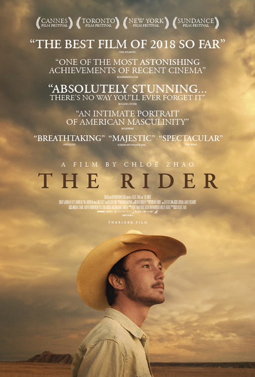 Resultado de imagen de cartel de The Rider película Chloé Zhao