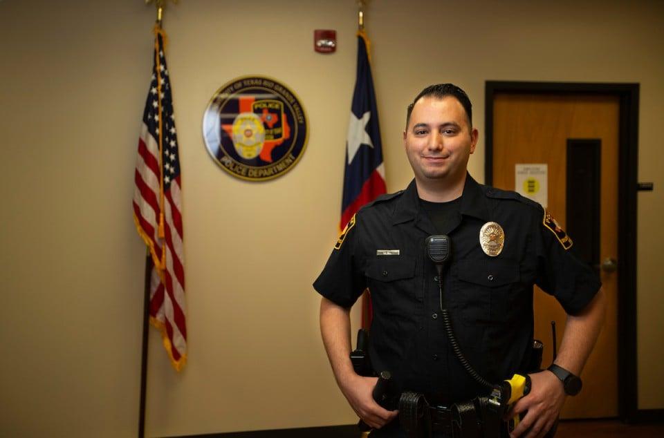 Meet Officer David Pena A Utrgv Unsung Hero