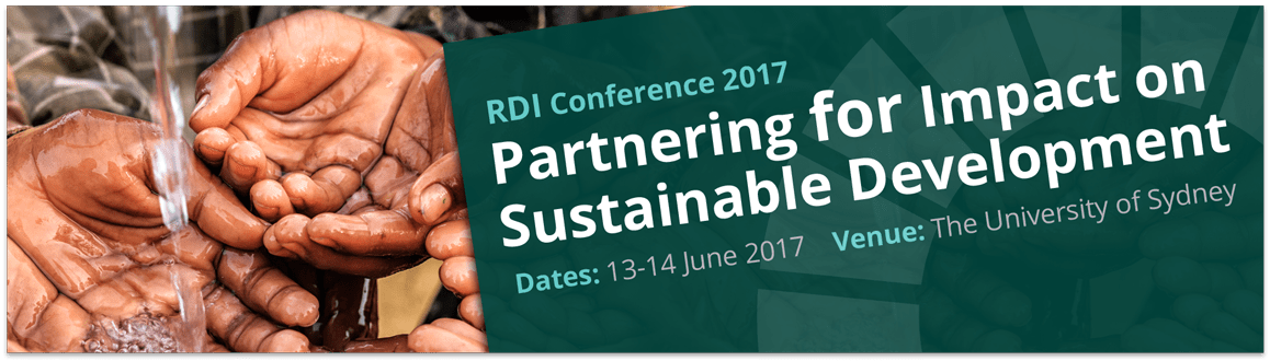 RDI conference banner