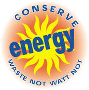 conserve energy, save the planet, use less oil