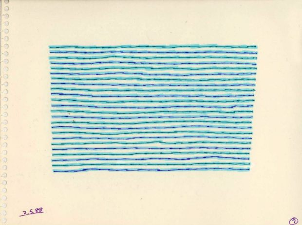 1988_Horizontal Line Study