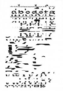 Spatola, Zeroglifico, 1966
