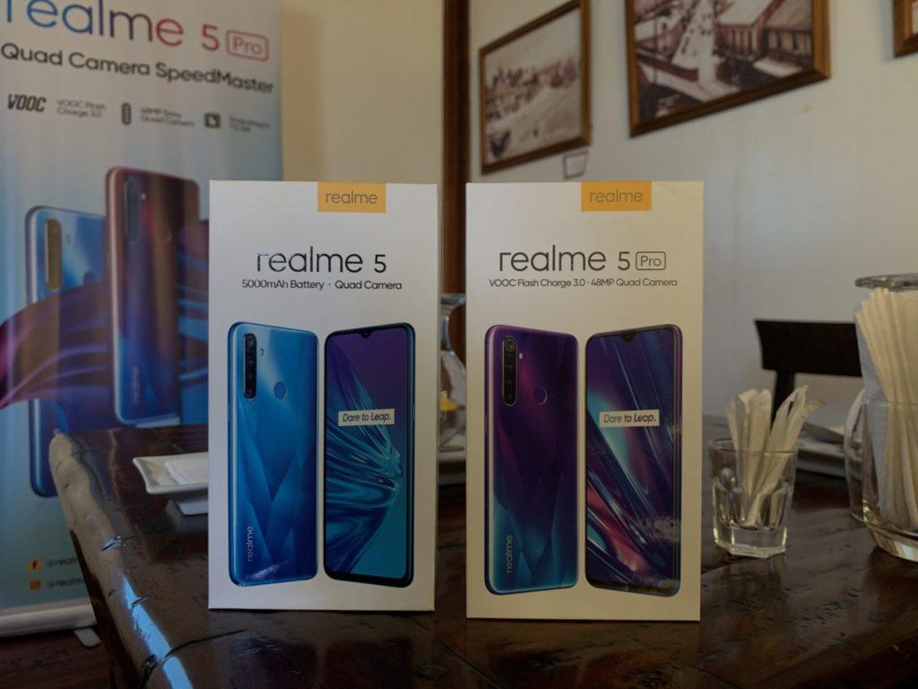 realme 5 and realme 5 Pro