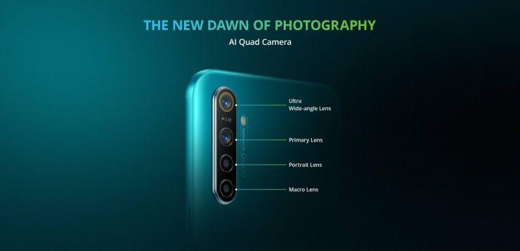 realme 5i - cameras