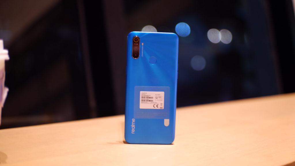 realme c3 in frozen blue