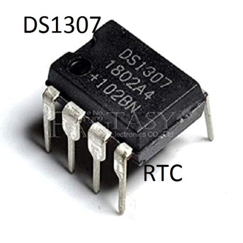 DS1307 RTC-uttolon
