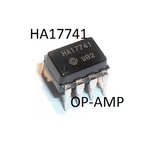 HA17741 OPAMP-uttolon