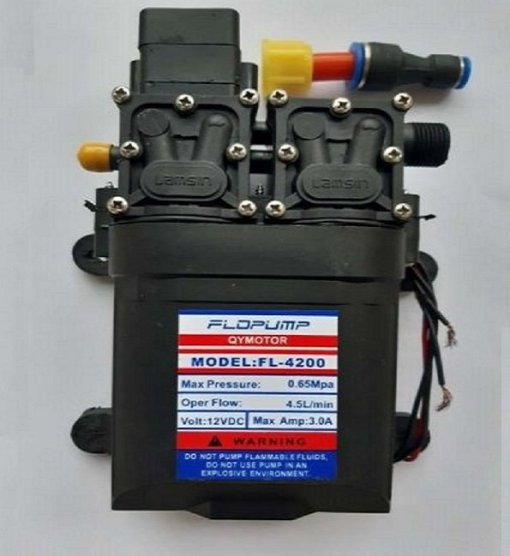 12V 6A Submersible Water Pump 9L Min