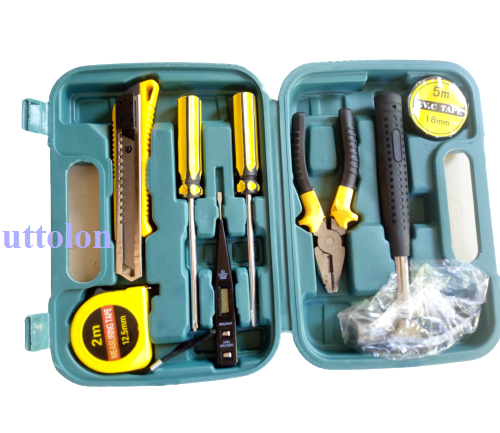 Tools set box all in one 8-Pcs