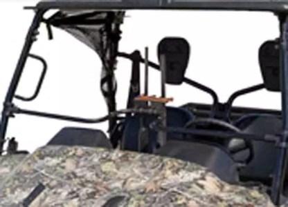 500CM Center Mount Gun Rack a UTV
