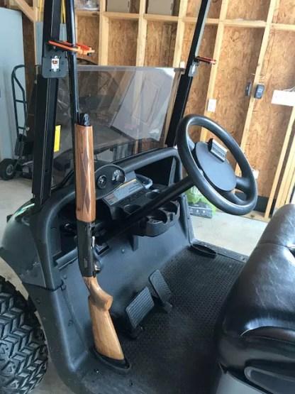 Golf Cart 310VT Vehicle Transport Universal Mount Gun Rack