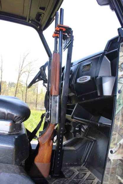 525UF Universal Floor Mount Gun Rack Holding Shotguns