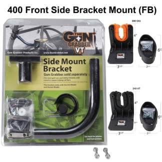 400 Front Side Bracket Mount. Pick your gun style racks