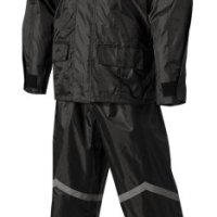 Nelson-Rigg Stormrider Rain Suit (Black/Black, XXXX-Large)