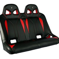 Pro Armor P144780RD Black/Red G2 Bench Seat
