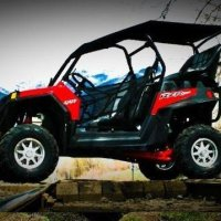 UTV Mountain Polaris RZR 900 XP Back Seat, Roll Cage and Soft Top Roof Kit. Two 4-Point Harnesses. RXR900XP-Kit2