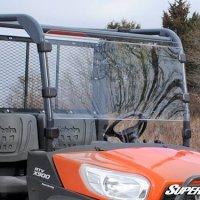 SuperATV Kubota RTV X-900 / X-1120D Scratch Resistant Full Windshield