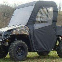 GCL UTV Polaris Ranger 2009-2011 Full Cab Enclosure for Hard Windshield. POLRXP-FCF