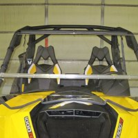 Can-Am Maverick Full Tilting Windshield. Made in America