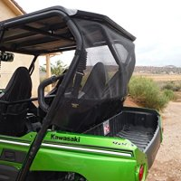 Kawasaki Teryx 4 Seater Dust Guard with back mesh window 2012-2016 (Does not fit 2 seater model)