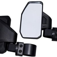 "Chupacabra Offroad Rear View / Side Mirror for UTV - Right & Left Pair for 1.6"" - 2"" Roll Cage RZR X3 Maverick Pioneer YXZ"