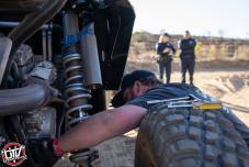 Jagged X Racing repairing mechanical issue at 2018 Baja 1000