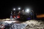 Jagged X Racing Chase Trucks preparing to fuel car at 2018 Baja 1000