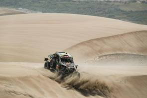 375 GOGUET Adrien (fra), GILSON Gregory (fra), Can-Am, Team BBR, Group OP3, Class UTV UTV OP, Auto , Motul, action during the Dakar 2019, Stage 6, Arequipa - San Juan de Marcona, peru, on january 13 - Photo Frederic Le Floc'h / DPPI