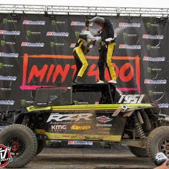Mitch Guthrie takes the overall UTV win at 2019 Mint 400
