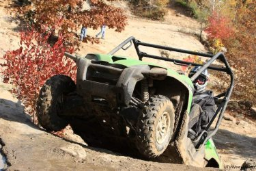 2010 Kawasaki Teryx Sport at Badlands Orr-Road Park