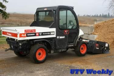 Bobcat Toolcat 5600 Sweeper
