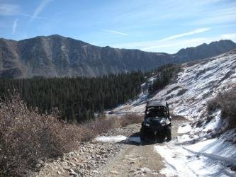 2008 Polaris RZR on Hancock Pass Trail Colorado