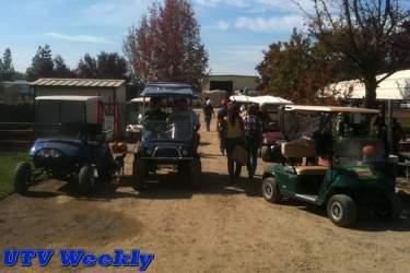 Golf Carts at the at Murieta Equestrian Center