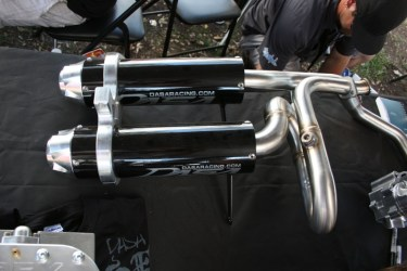 DASA Racing Kawasaki Teryx Dual Exhaust