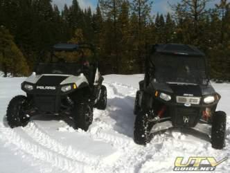 2010 and 2009 Polaris RZR S