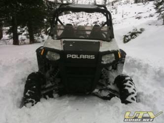 2010 Polaris RZR S - Stuck in the snow