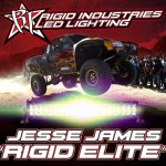 Jesse James To Ride With Rigid Industries
