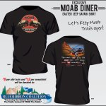GET YOUR MOAB DINER T-SHIRT & SUPPORT BRC
