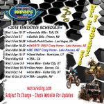 WORCS 2016 TENTATIVE SCHEDULE IS HERE!