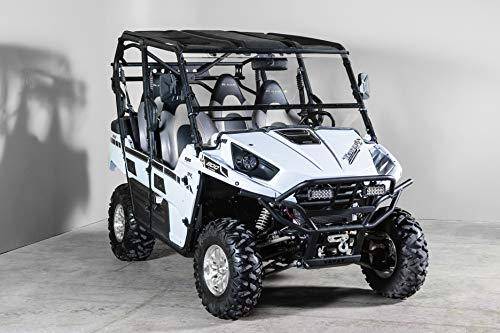 "Models 2019+ Polaris RZR Turbo//S Full Tilting UTV Windshield 3//16/"""